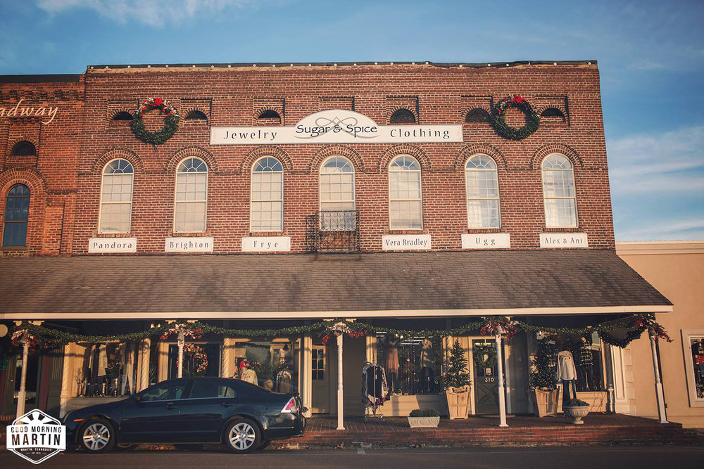 Sugar & Spice - 310 Broadway St, Martin, TN 38237