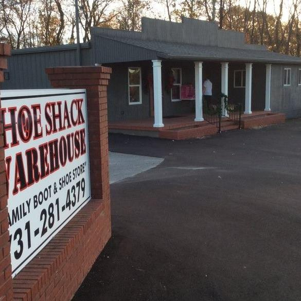 Shoe Shack Warehouse - 1001 Main StMartin, Tennessee(731) 281-4379