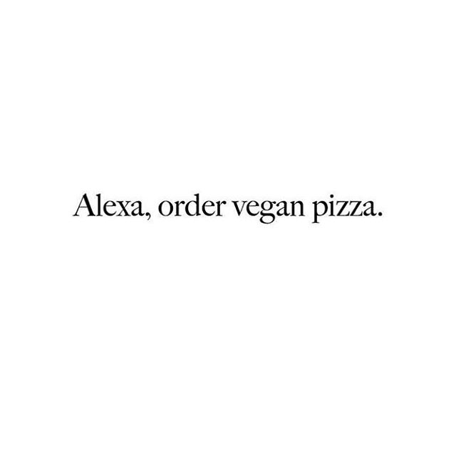 Such a #mondaymood 😜😅 But seriously, can someone order some vegan pizza pls?🍕