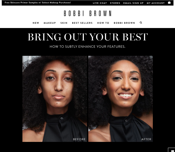 Bobbi Brown   - See Perfect Skin Campaign