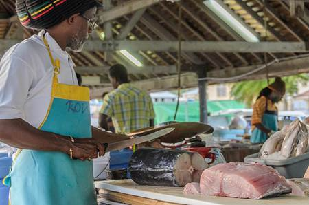 Oistins-Fish-Market