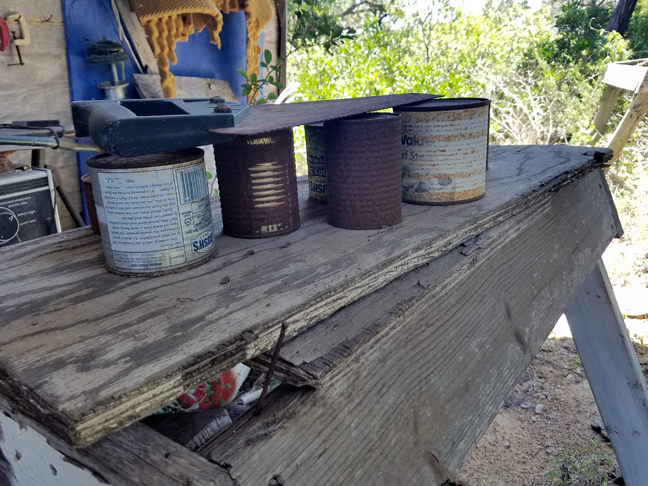 Canned Food with a Saw