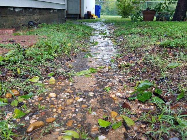 Random Photo Day - Rain from Hurricane Harvey