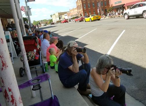 Professional Photographers enjoyed our parade