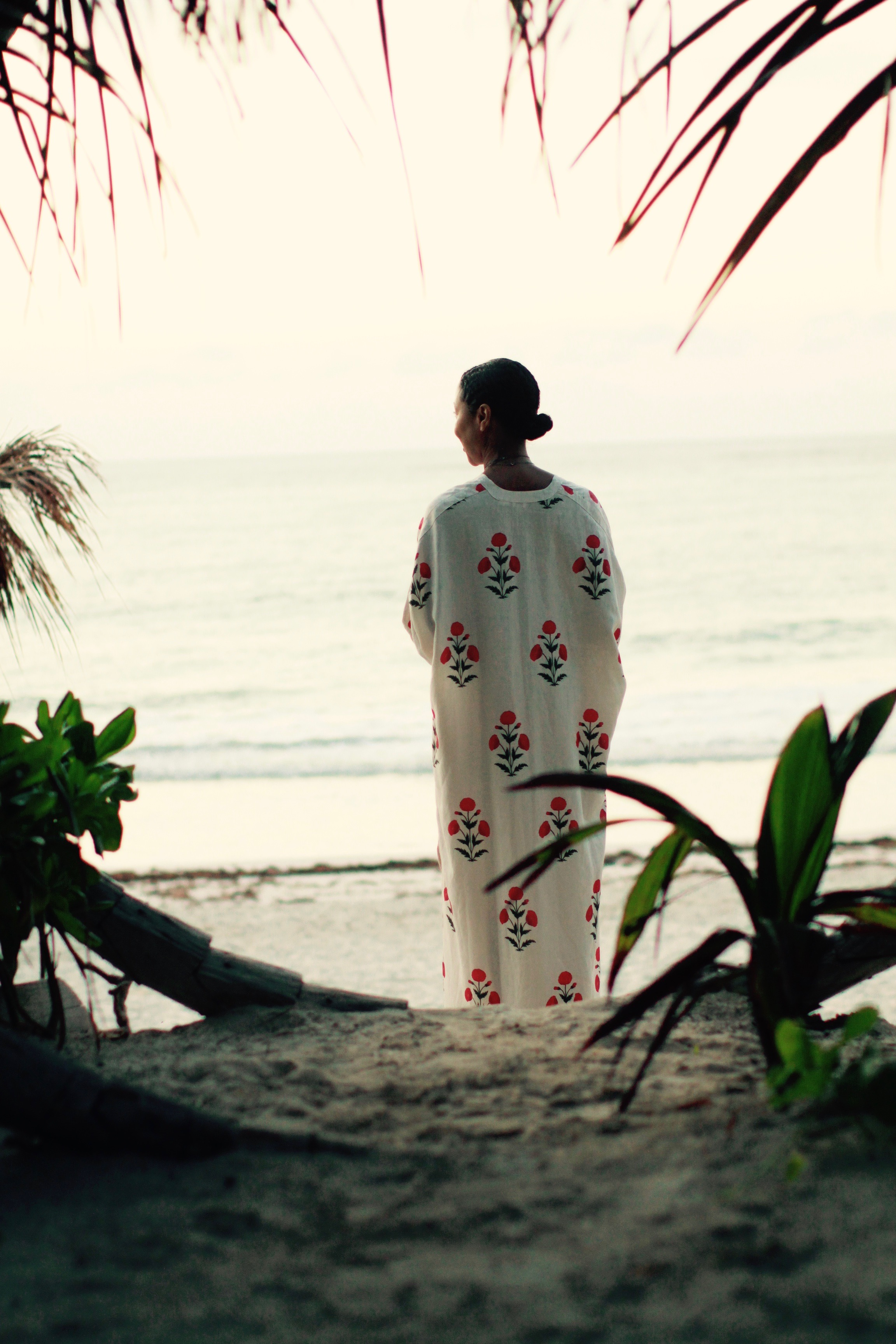 Waiting on the sun. Caftan by Rhode Resort.  Similar found  here