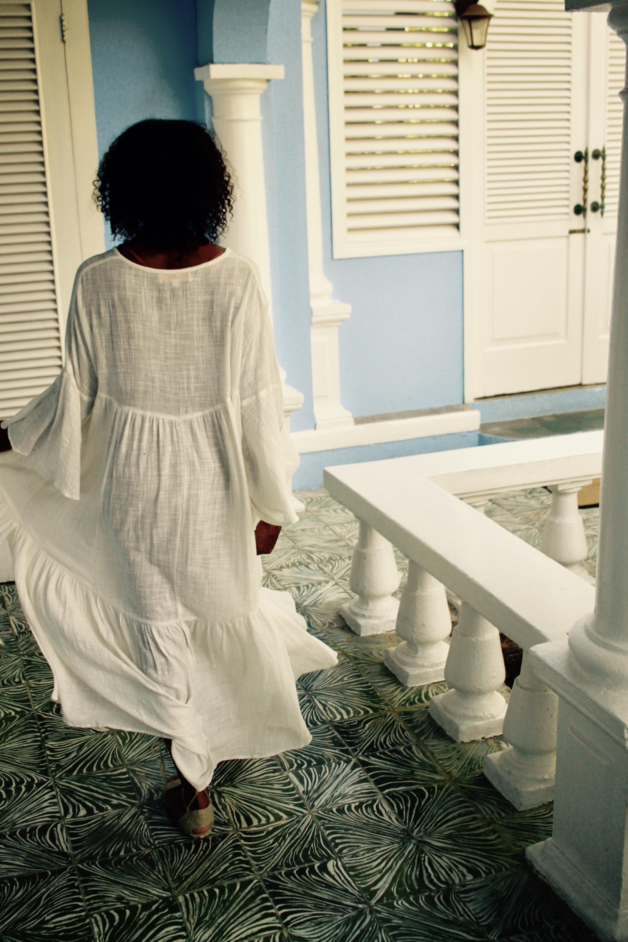 Fernanda Dress by   Natalie Martin  available   here   Handmade Spanish Espadrilles available   here