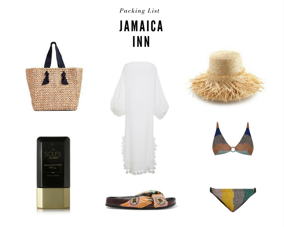 Jamaica Inn Packing lIst