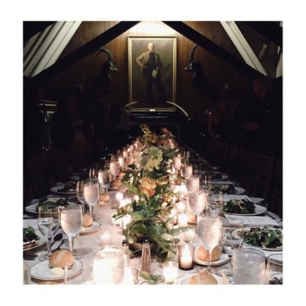 Ten Beautiful Thanksgiving Dinner Tablescapes via  Vogue