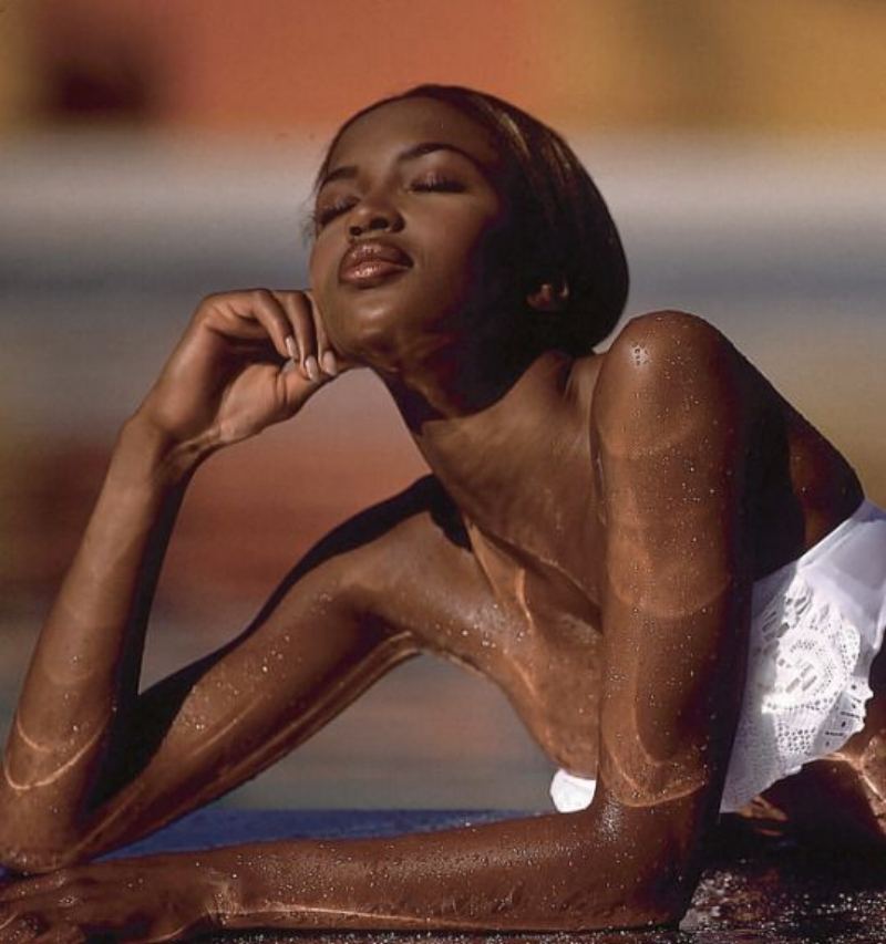 Naomi Campbell  1992 Sports Illustrated Swimsuit Issue