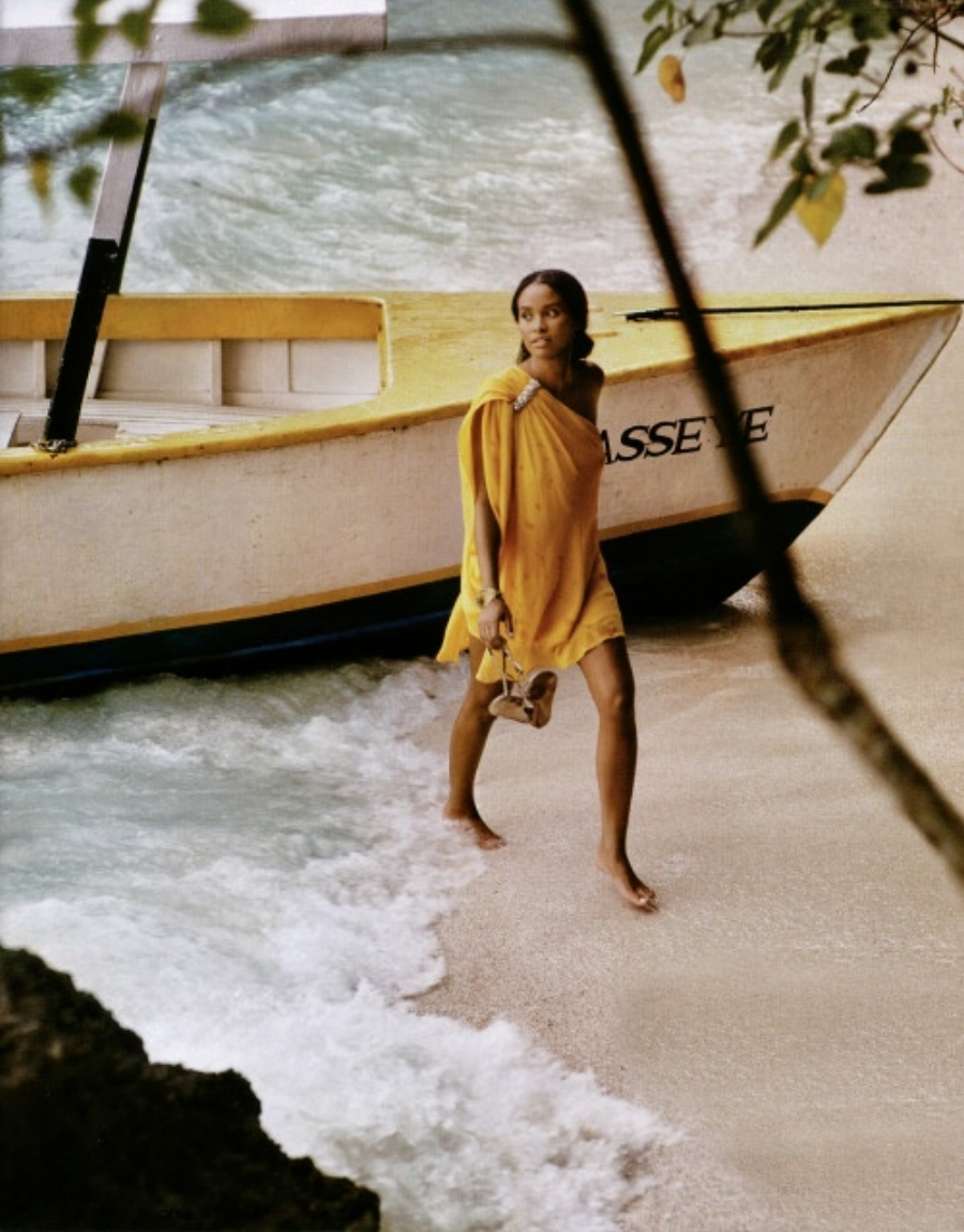 Joy Bryant Escape To Paradise, In Style Australia, February 2011