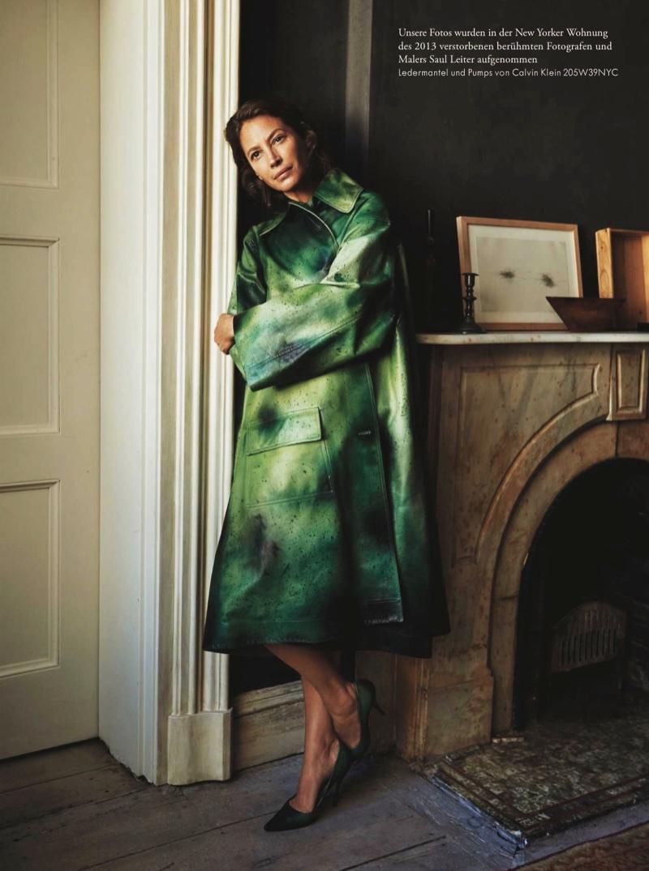 Zeit Magazin February 2018 Christy Turlington by Pamela Hanson