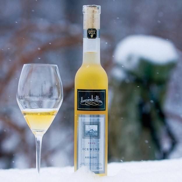 Inniskillin Ice Wine in Snow