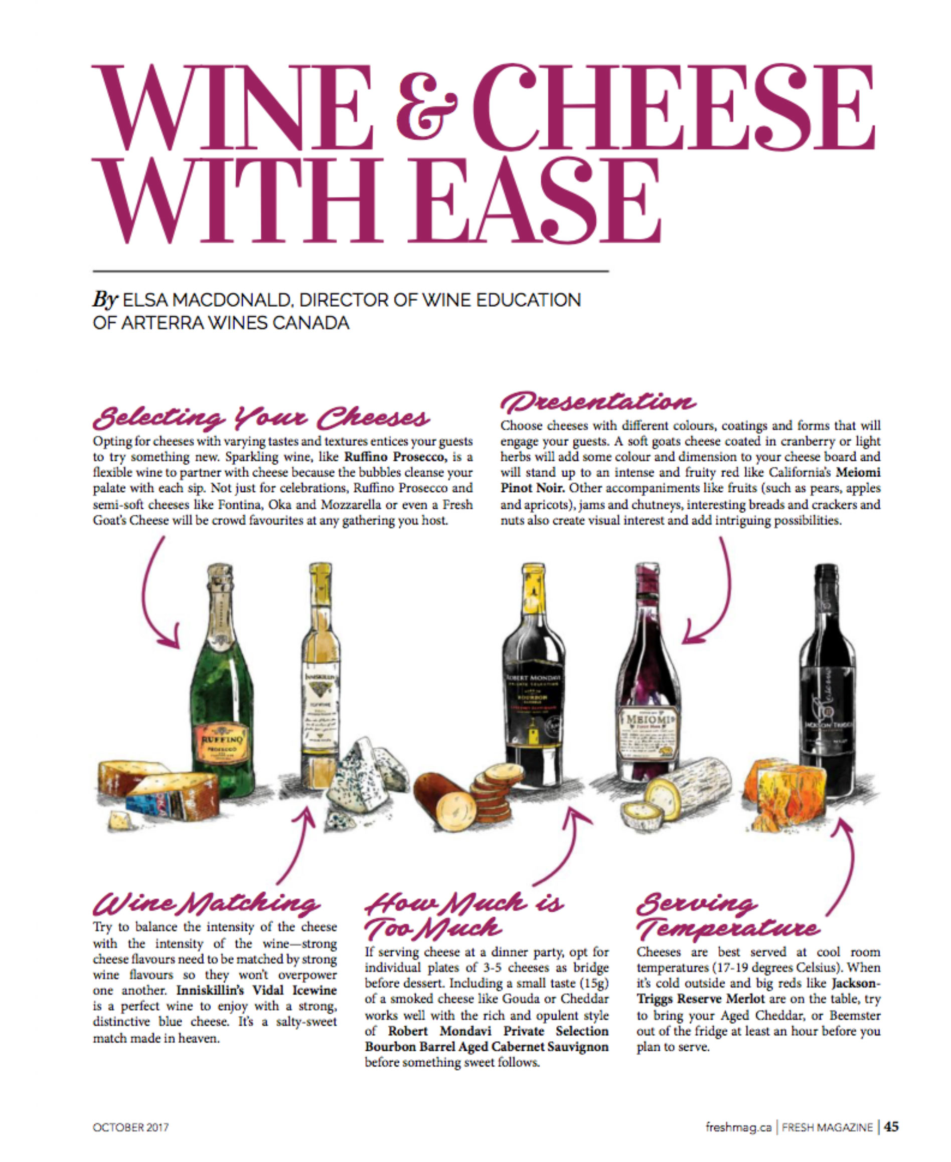Arterra Wines Canada - Fresh Magazine