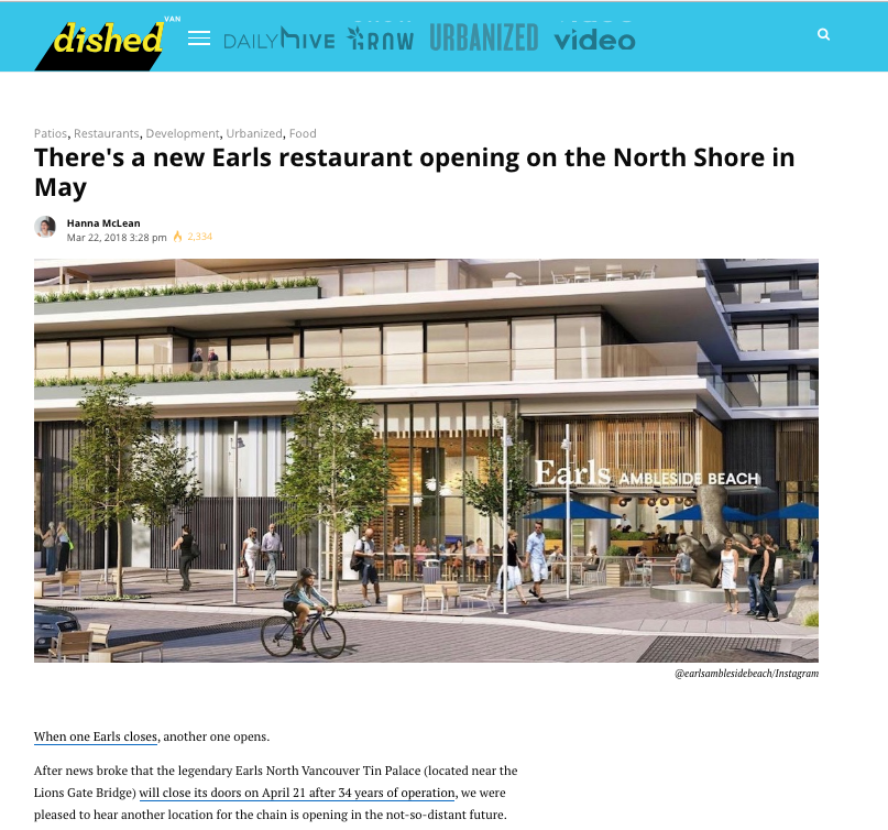 Earls - Daily Hive Vancouver