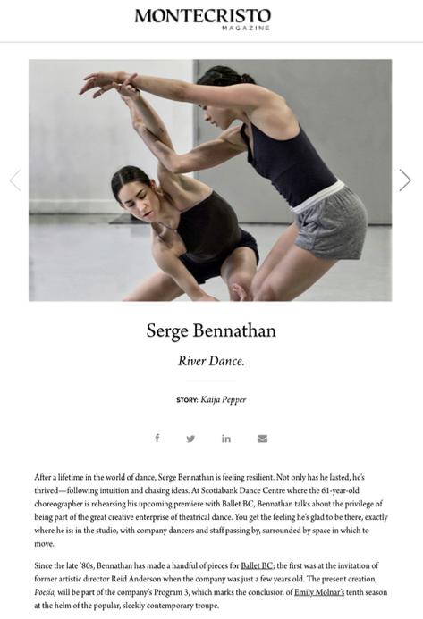 Ballet BC - Montecristo Magazine