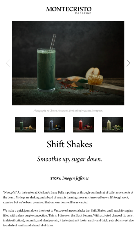 Shift Shakes - Montecristo Magazine