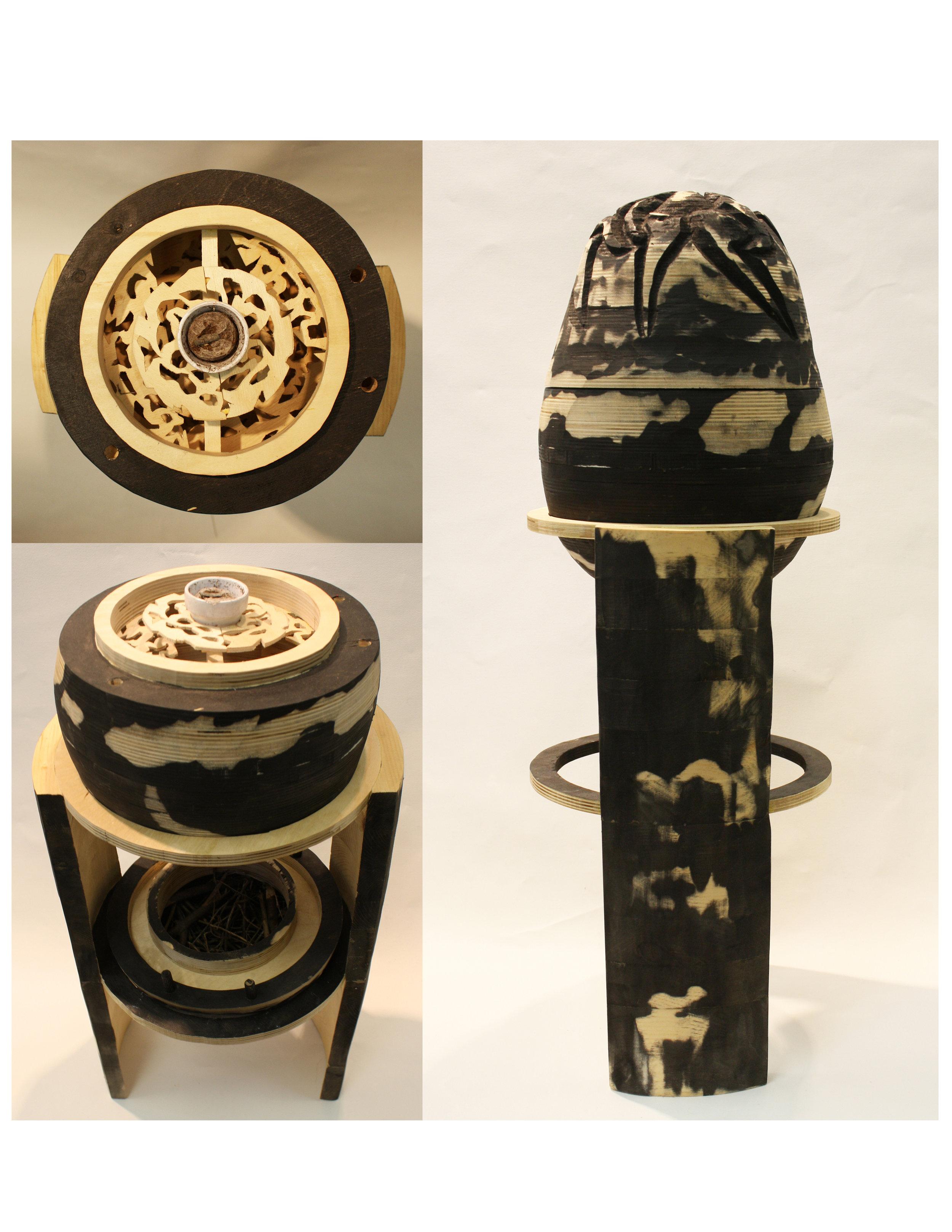 Egg. 2010, Wood