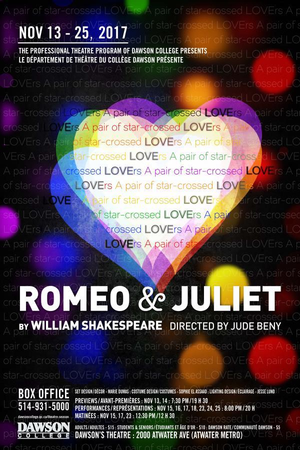 Romeo and Juliet ( Dawson College)  Costume Design