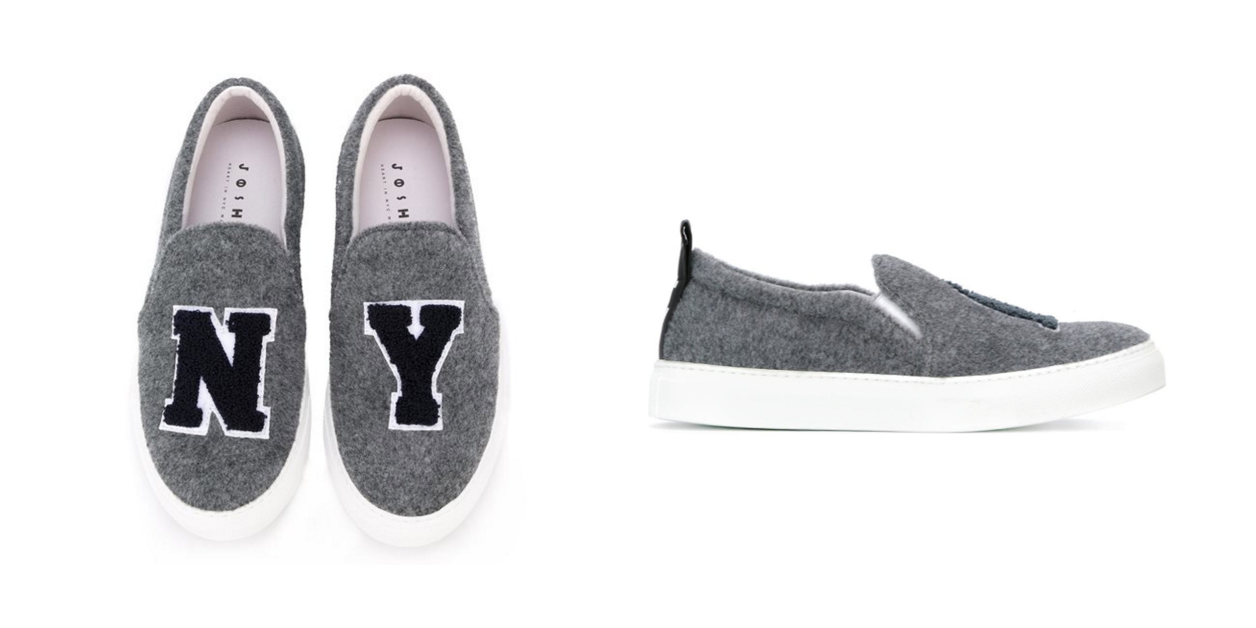 STEAL: Wool Slip On Sneakers,  Joshua Sanders ,$272.74