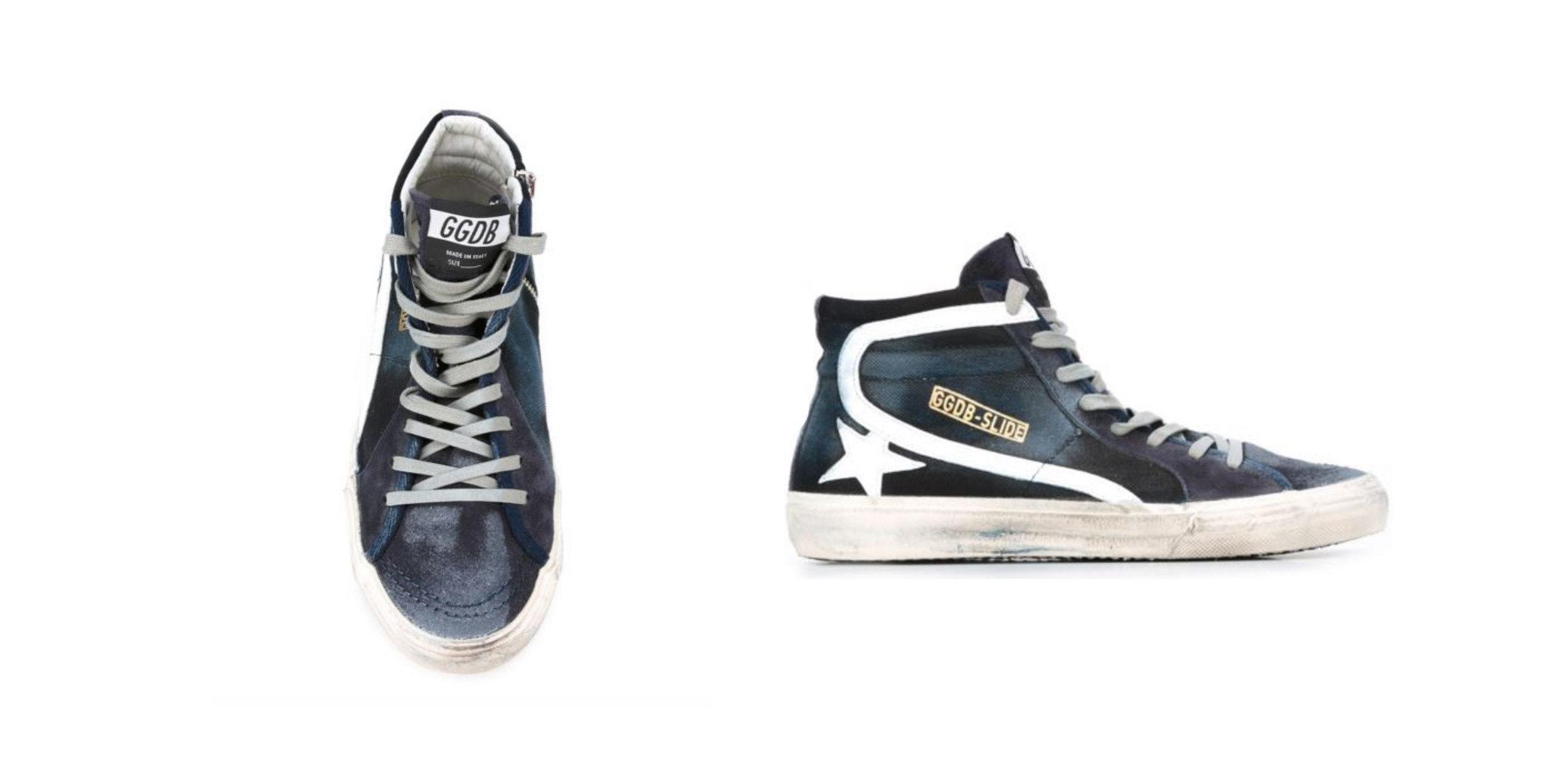 SPLURGE: High Top Sneakers,  GGDB , $495