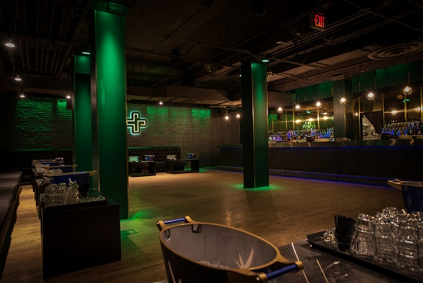 Weekday - $2,500 min spend on bar + catering available