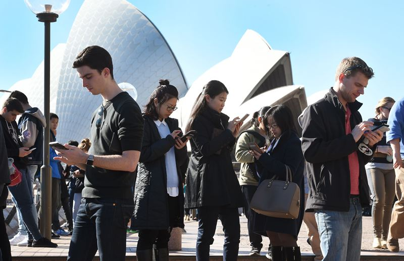Place-making in the digital age? Pokemon Go hits Sydney.