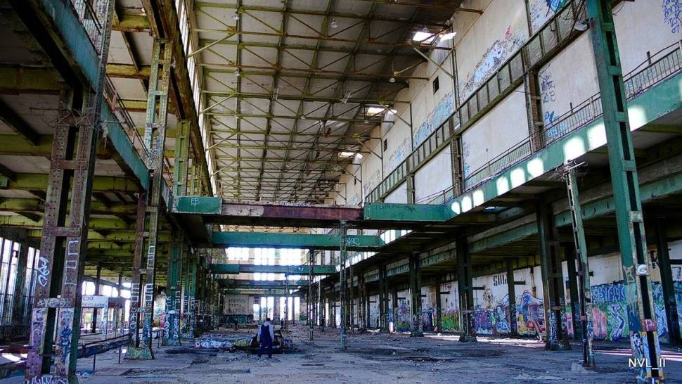 And the abandoned Fremantle Powerstation... all potent possibility.