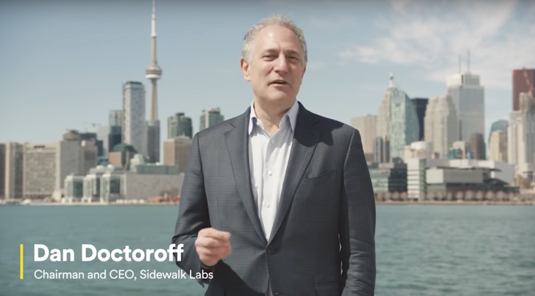 Sidewalk Labs CEO Dan Doctoroff loves Toronto as part of an 'elite class' of American cities it plans to expand its products into.