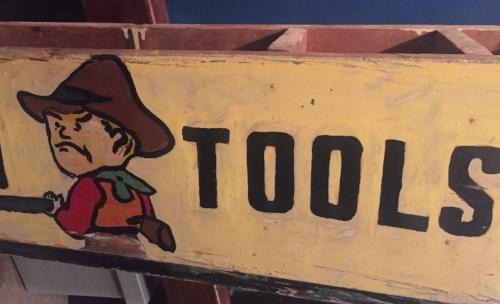 Angry Tools, Antique Sign, Savannah, GA ©2016