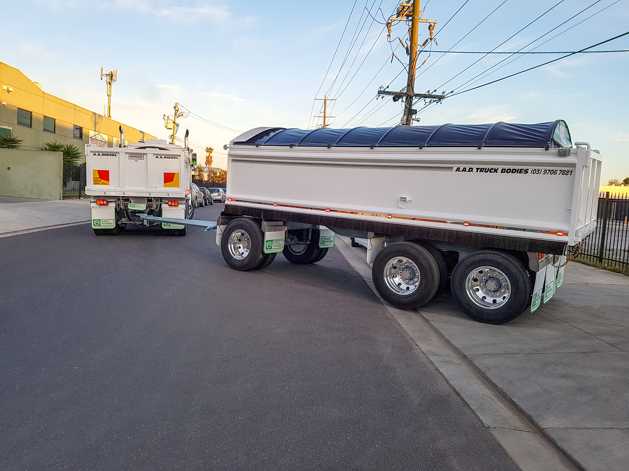 Truck Trailers   truck trailer, super dog trailer, quad dog trailer, plant trailer, truck and dog trailer combination
