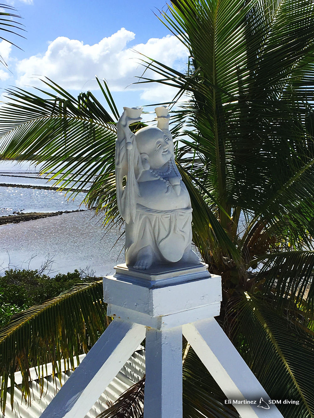 Every island needs a friendly Budda, offering blessings, good luck and love.