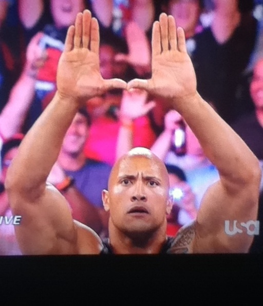 The U Lays the Smackdown