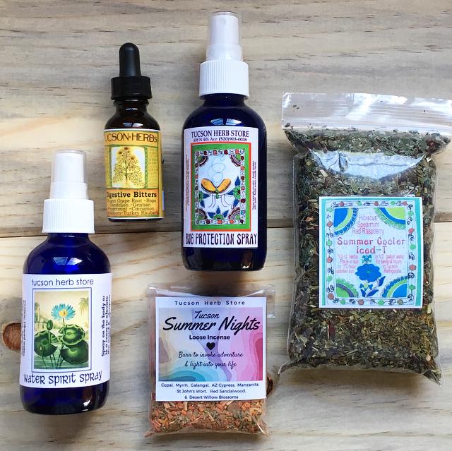 Tucson Herb Store summertime desert remedies