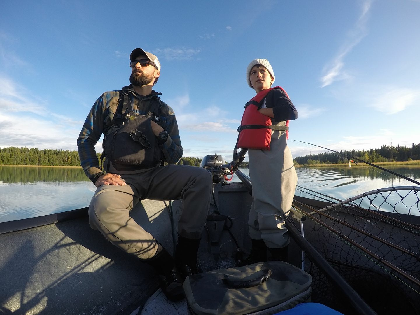 We're super excited to work with young fishermen!