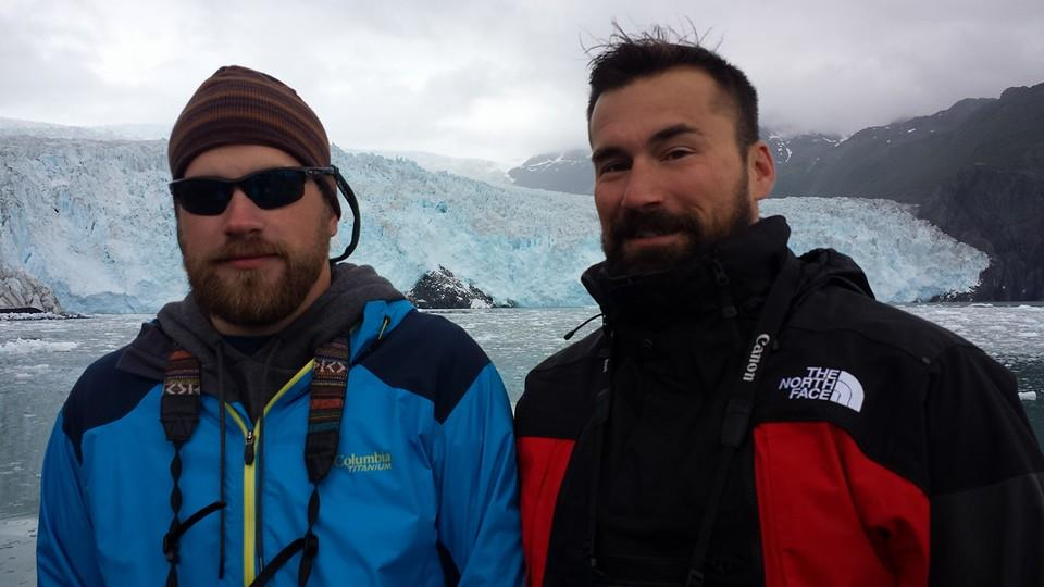Head Fishing Guide Dave and brother Dominic on the Kenai Fjord Tour!
