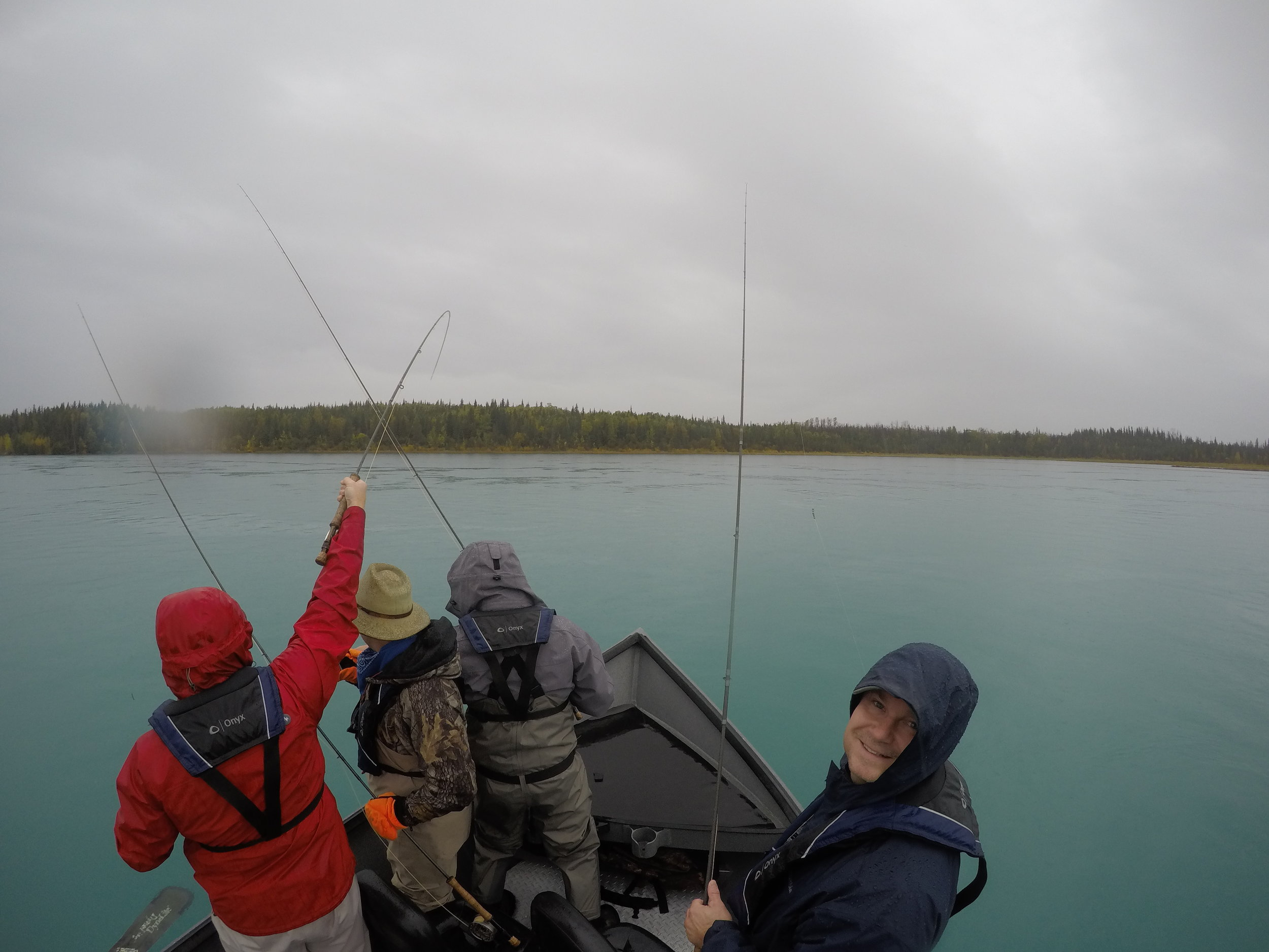 A boatload of fly fishing fun in Alaska!