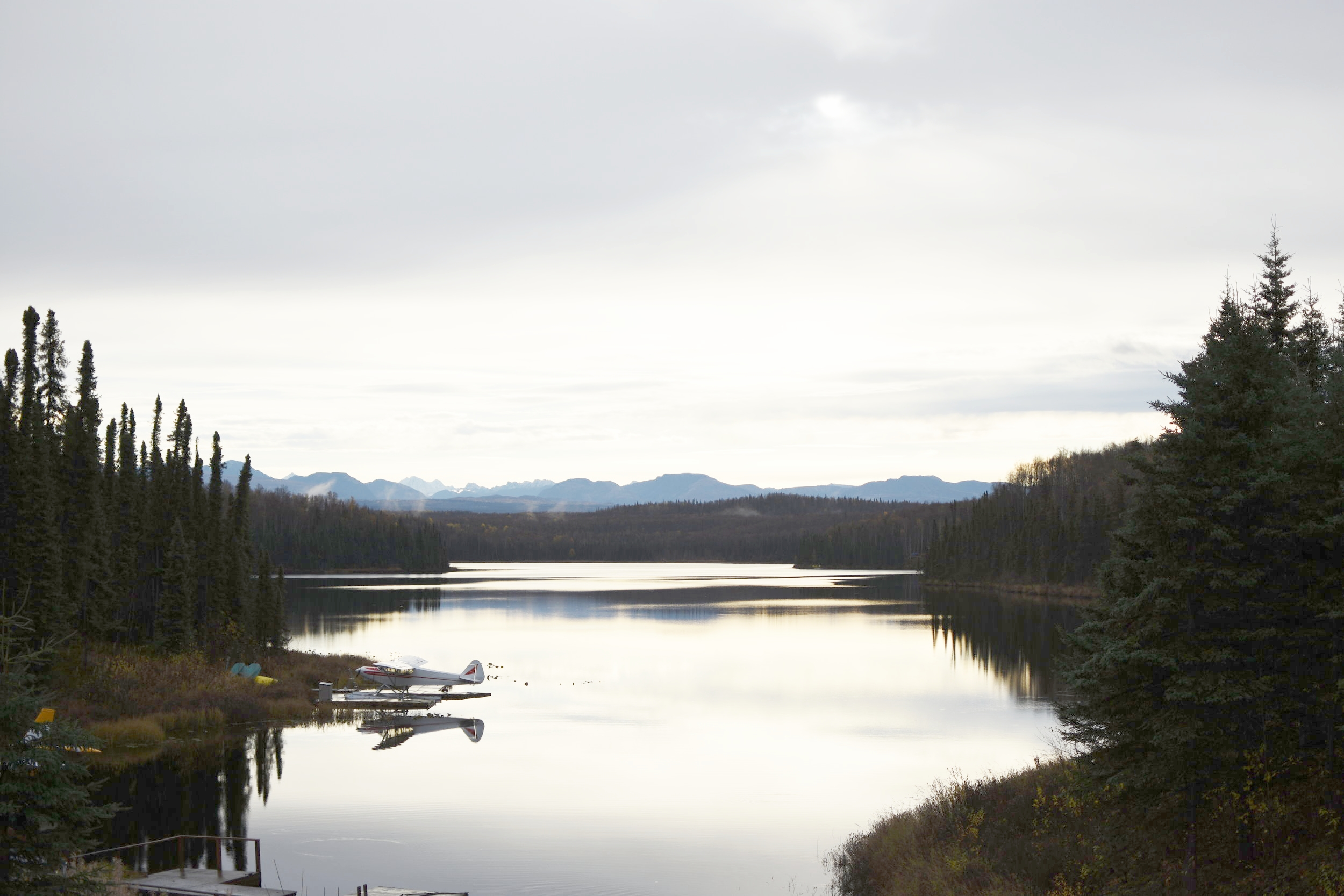 A beautiful morning near Talkeetna, AK.