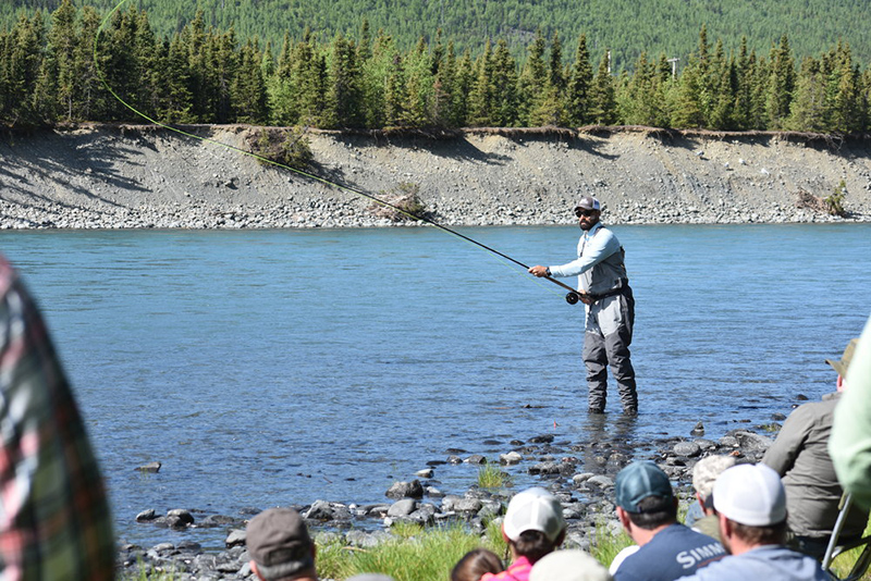 Kenai River Spey Fishing