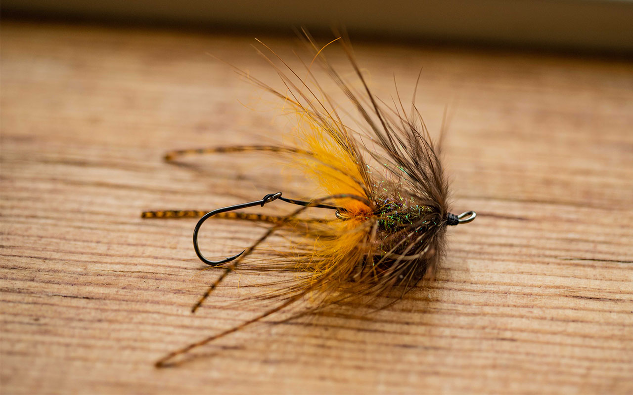 Trout Intruders are very effective swinging flies!