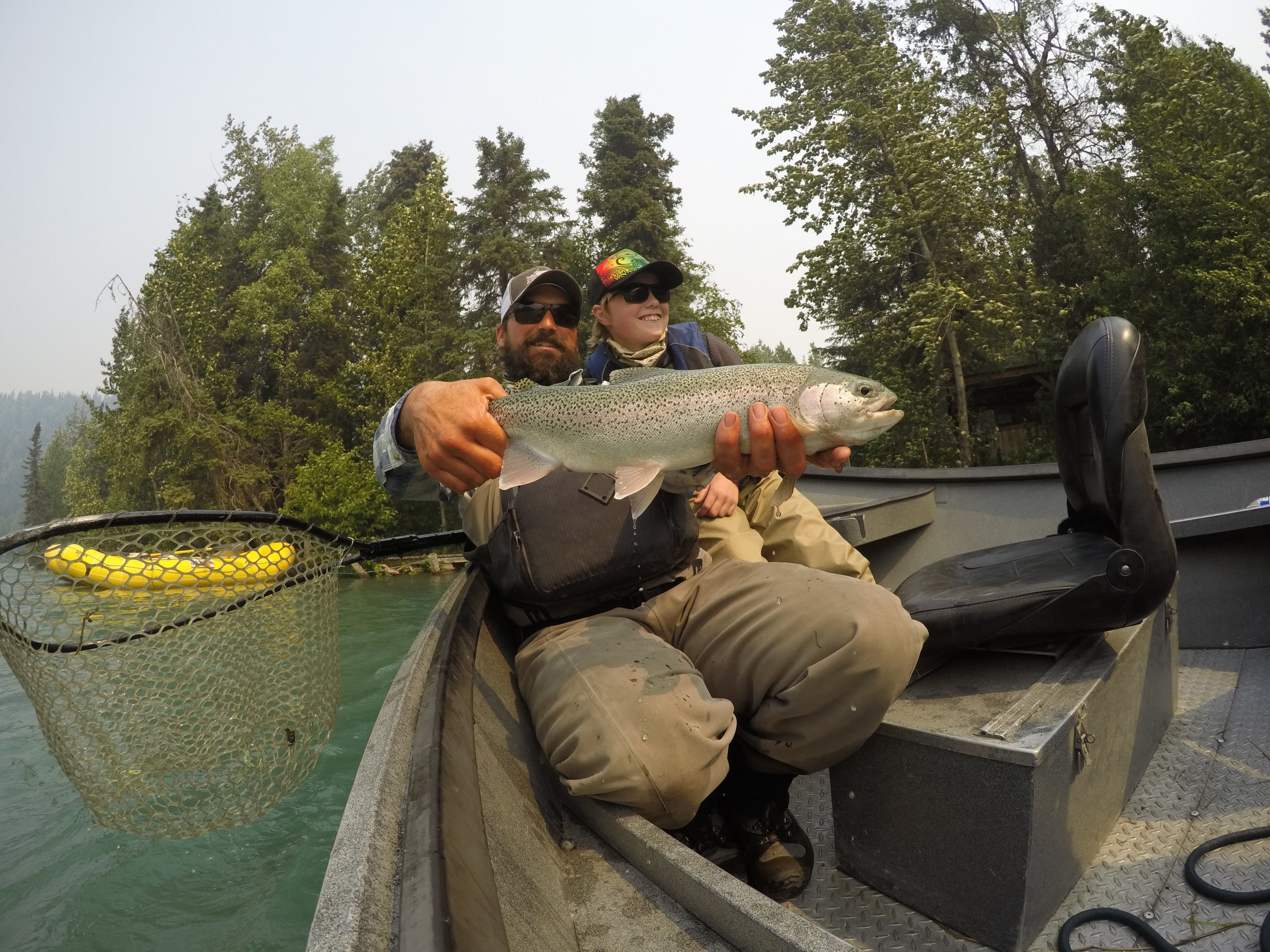 Upper Kenai River Rainbow Trout!