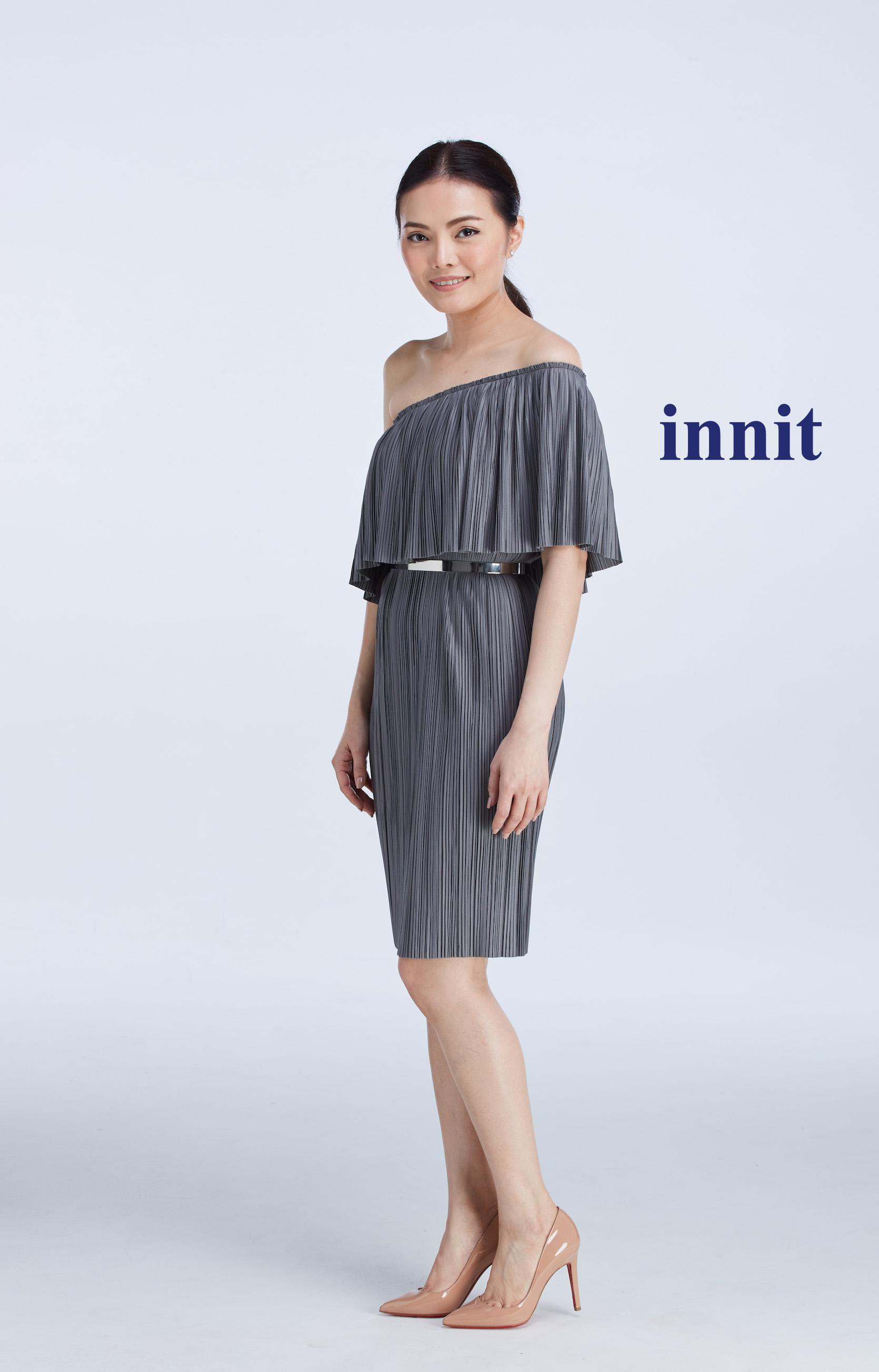 "SIGNATURE STRAIGHT DRESS 30""   Plate Belt"