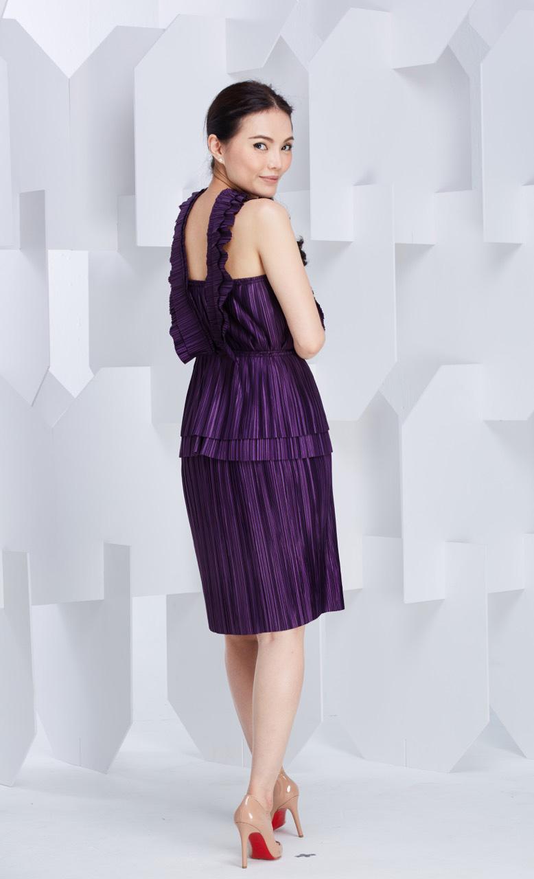X Straight   Pleat Skirt