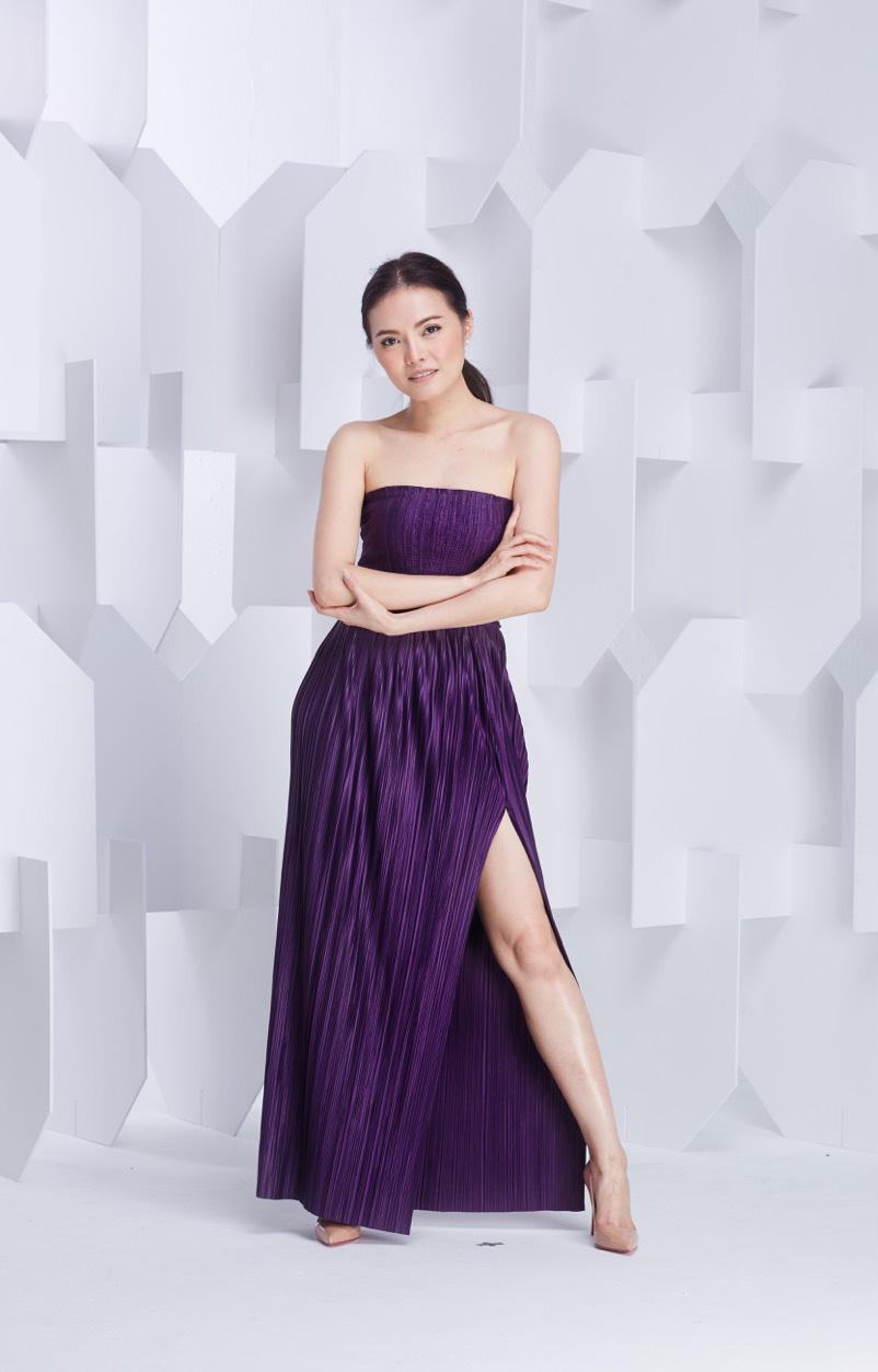 Na24 Top   Slit Skirt