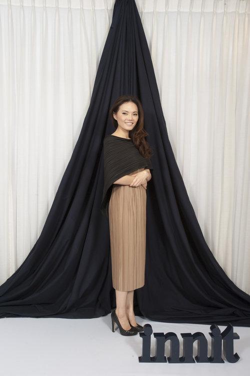 Oscar Top   Pleat Skirt