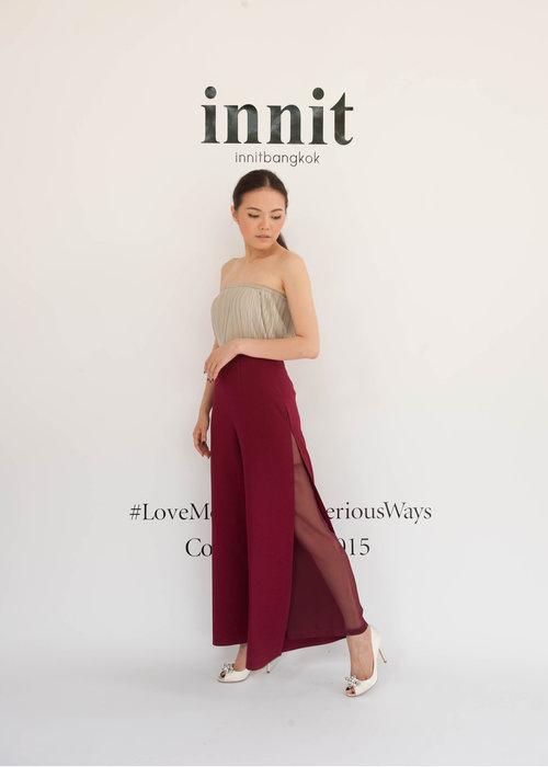 Pleat Skirt (worn as top)