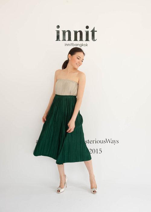 Pleat Pants   Pleat Skirt (worn as top)