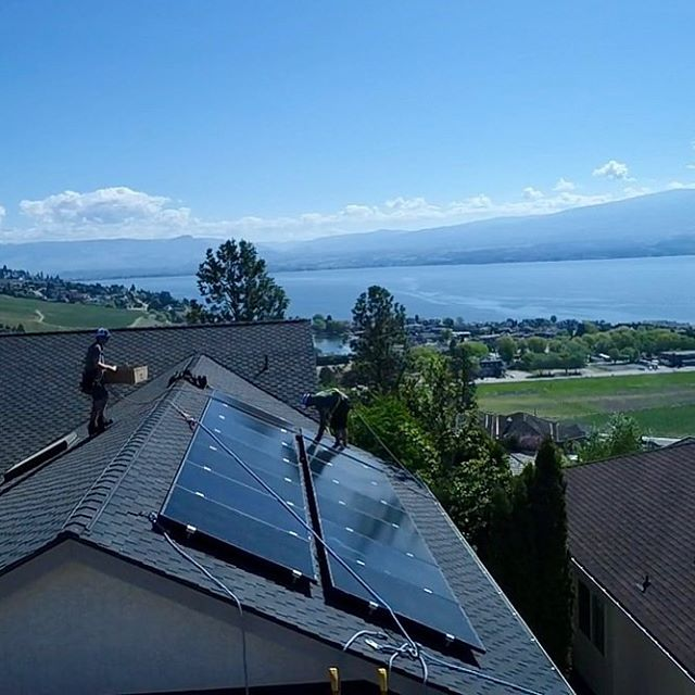 This 4kW system will generate enough energy to save the homeowner an average of $1000/year and see a return on investment in 13.5 years. Not to mention the added value in home due to implementing its own renewable power generator is arguably as much as initial investment so in some ways the payback is instant!