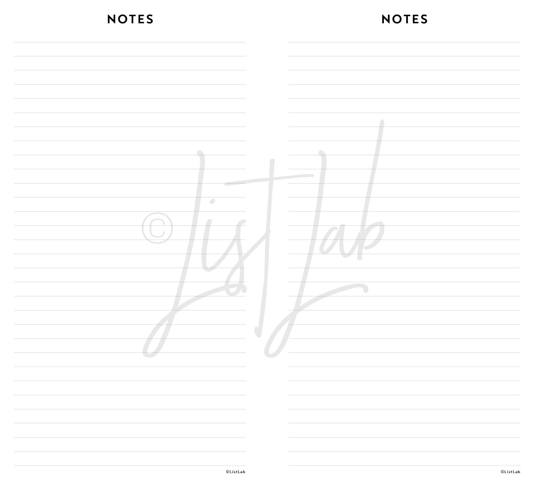 NOTES PAGE