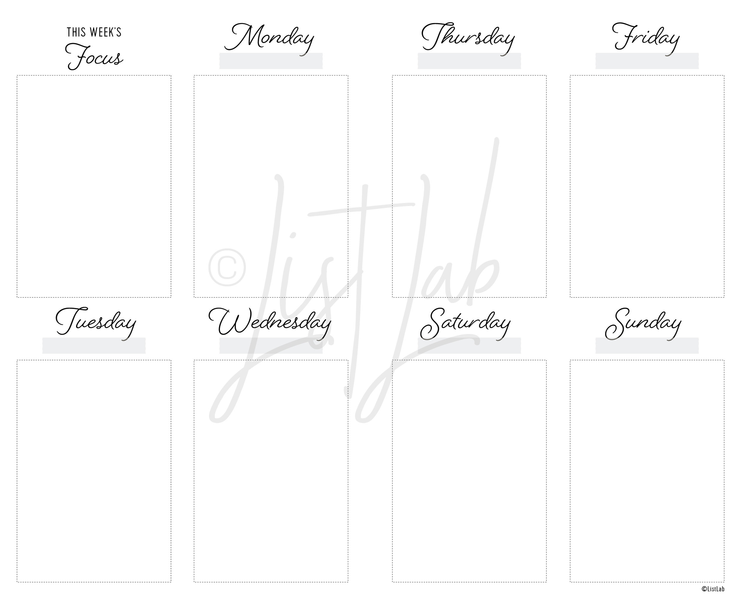 2-PAGE WEEKLY VERTICAL UNLINED (WO2P VU)