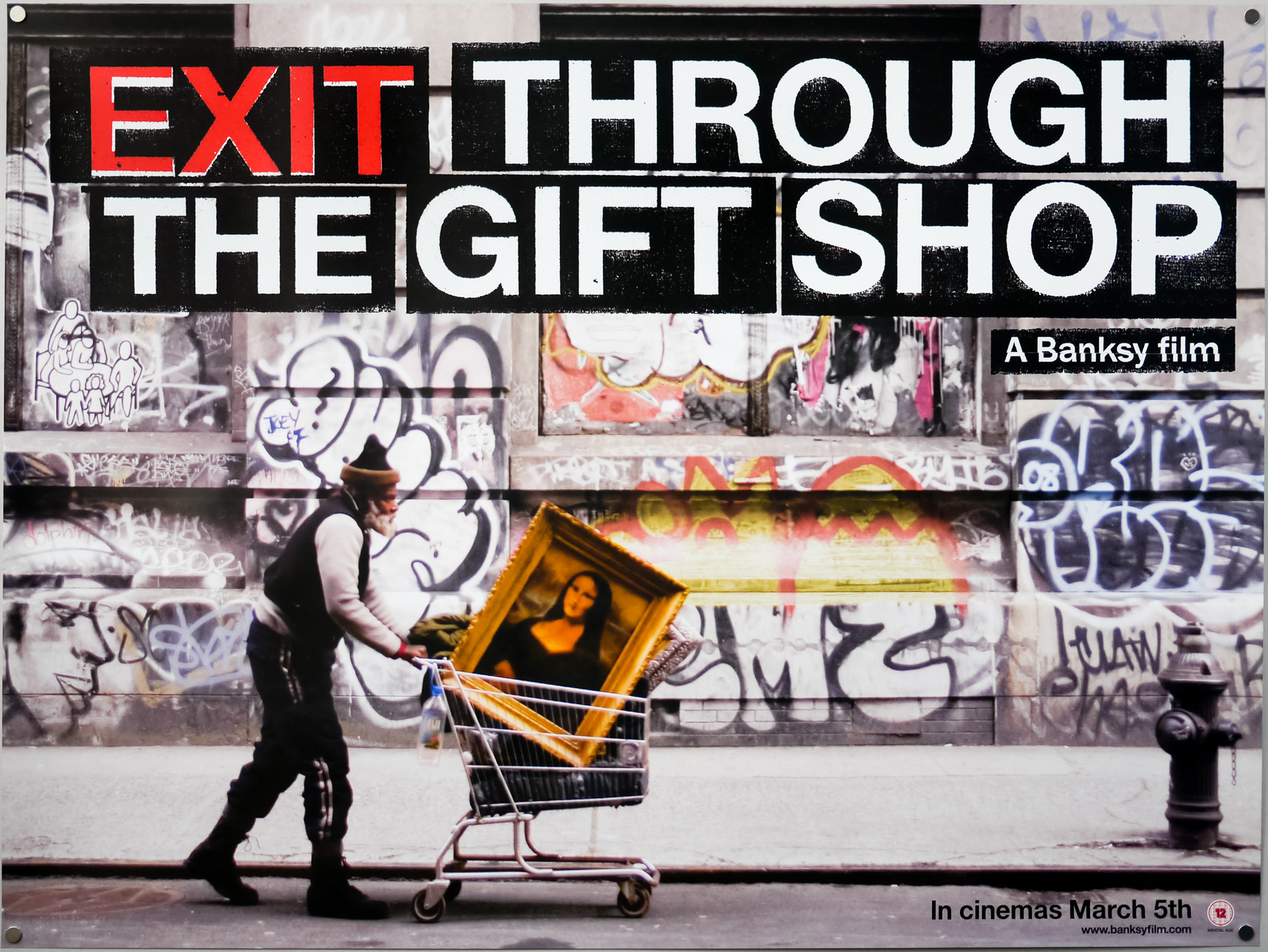 Exit Through the Gift Shop. Image courtesy of Revolver Entertainment.